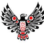 Орел с крыльями