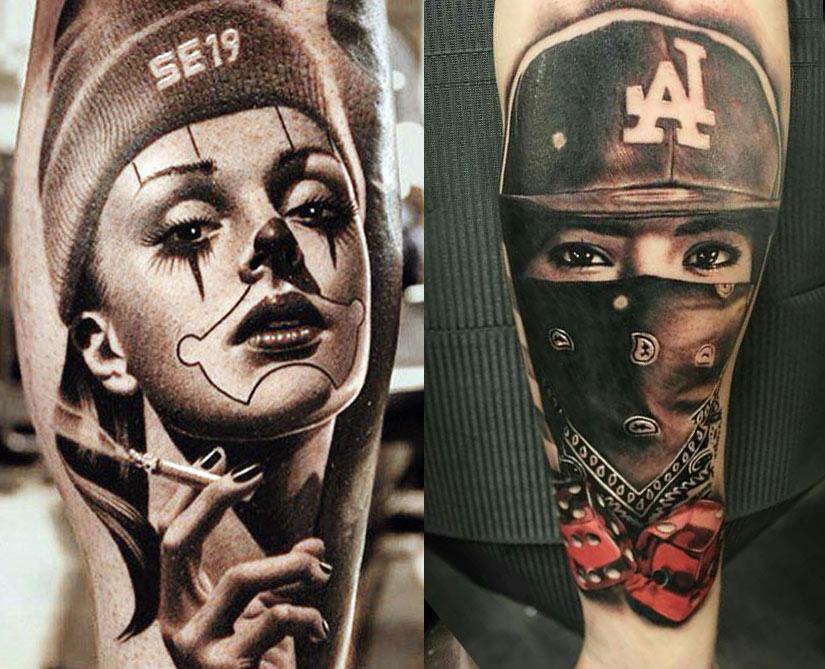 Лучшие татуировки чикано