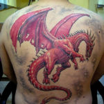 Дракон на всю спину