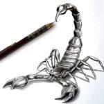Реалистичный скорпион