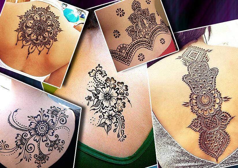 Татуировки хной, мехенди