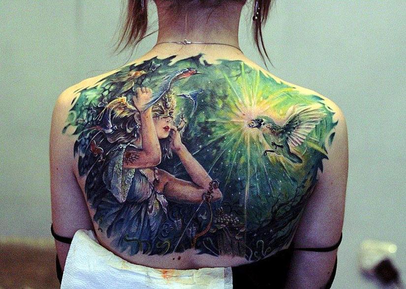 Большая татуировка