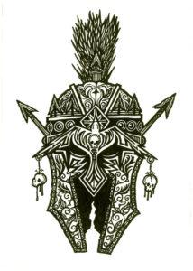 Шлем гладиатора