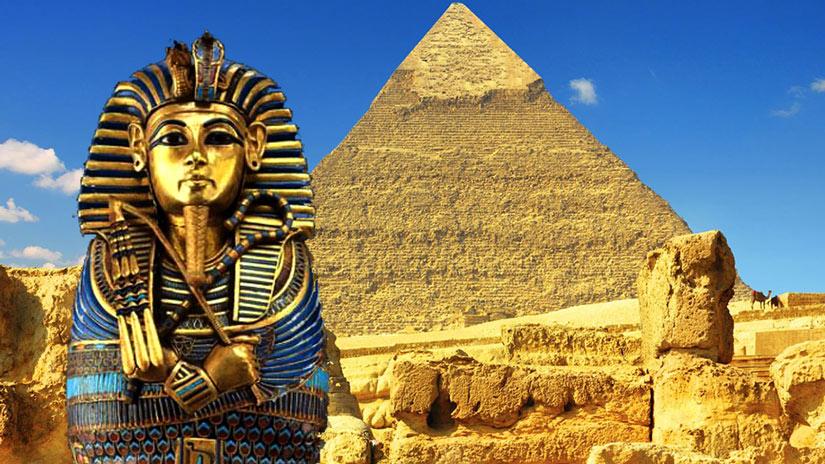 Египет, фараон и пирамиды
