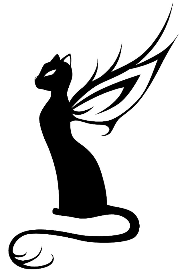 Картинки татуировки кошка